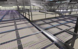 structural engineering of conveyor support steel