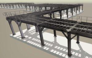 structural engineering of mezzanine