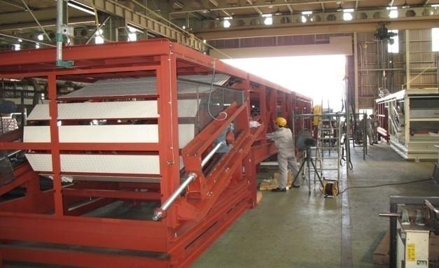 slat conveyor weld inspection