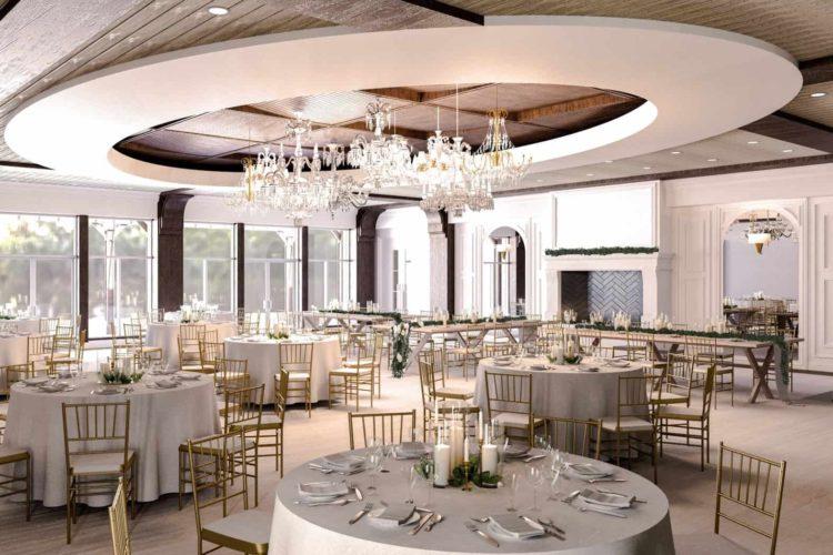 Architectural Design of Wedding Venue