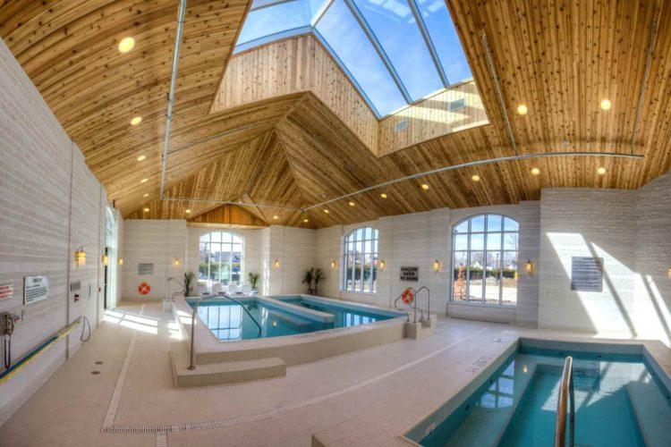 Architectural Design of Spa