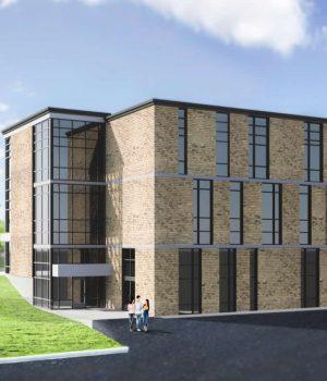 Architectural Design of School Addition